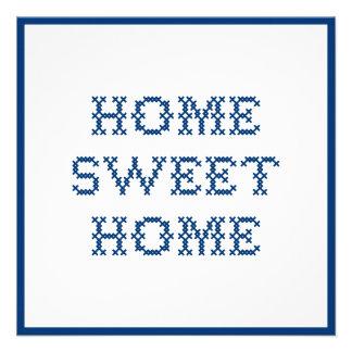 Home Sweet Home Custom Announcement