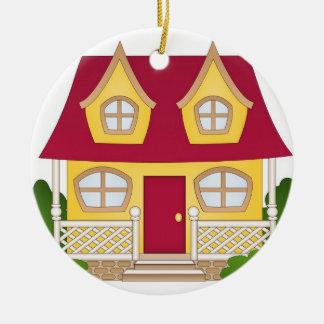 Home Sweet Home - Daytime Christmas Ornament