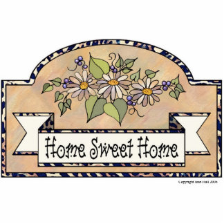 """Home Sweet Home"" - Decorative Sign Photo Sculpture Decoration"