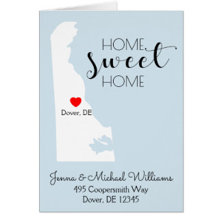 Home Sweet Home | Delaware Card