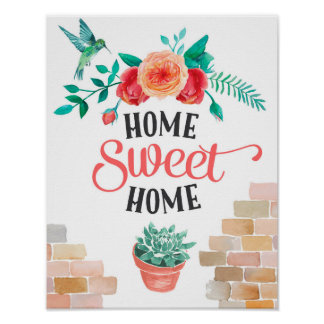 Home Sweet Posters
