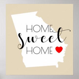 Home Sweet Home | Georgia Poster