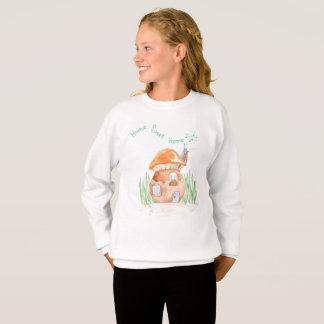"""Home Sweet Home""  Girls Sweatshirt"
