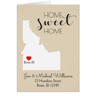 Home Sweet Home | Idaho Card