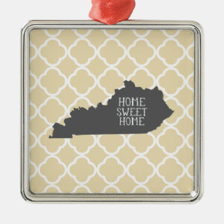 Home Sweet Home Kentucky Christmas Ornament