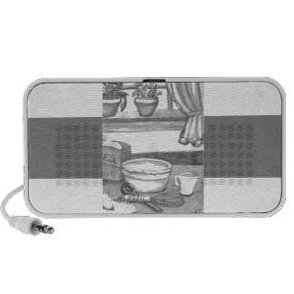 Home Sweet Home Kitchen Baking Christmas Holiday Portable Speaker