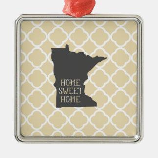 Home Sweet Home Minnesota Christmas Ornament