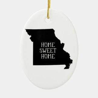Home Sweet Home Missouri Christmas Ornament