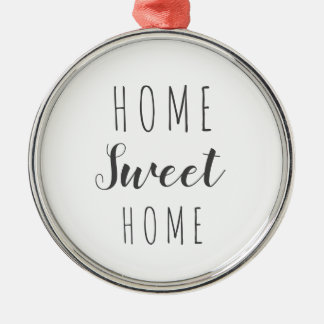 Home sweet home modern farmhouse ornament