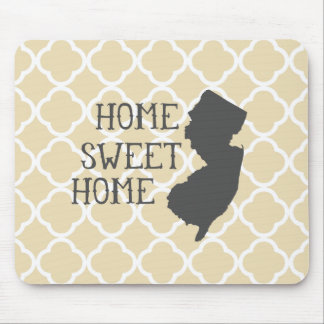 Home Sweet Home New Jersey Mouse Pad