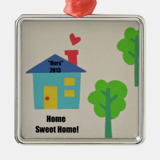 """Home Sweet Home """"Ours"""" 2013 Christmas Ornament"""