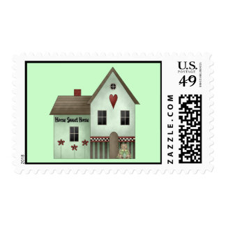 Home Sweet Home Postage Stamps