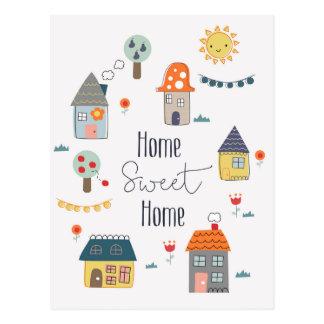 Home Sweet Home Postcard