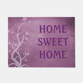 Home Sweet Home Purple Mystical Tree Door Mat