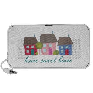 Home Sweet Home Notebook Speaker