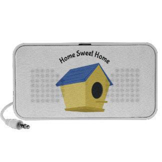 Home Sweet Home Notebook Speakers