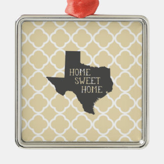 Home Sweet Home Texas Christmas Ornament