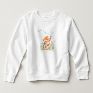 """Home Sweet Home"" Toddler Fleece Sweatshirt"