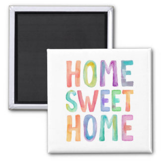 HOME SWEET HOME WATERCOLOR | MAGNET