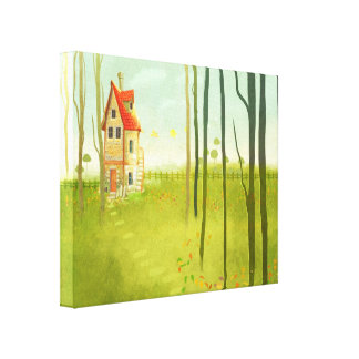 Home Sweet Home wrapped canvas prints