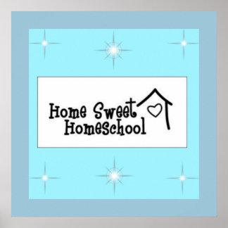 Home Sweet Homeschool Poster