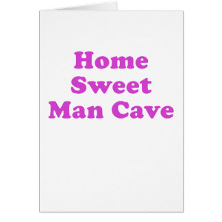 Home Sweet Man Cave Cards