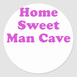 Home Sweet Man Cave Stickers