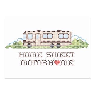 Home Sweet Motor Home, Class A Fun Road Trip Pack Of Chubby Business Cards