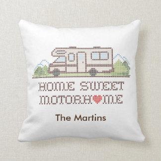 Home Sweet Motor Home, Class C Fun Road Trip Cushion