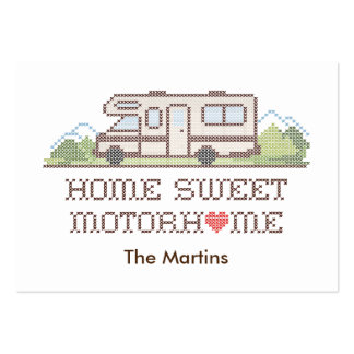 Home Sweet Motor Home, Class C Fun Road Trip Pack Of Chubby Business Cards