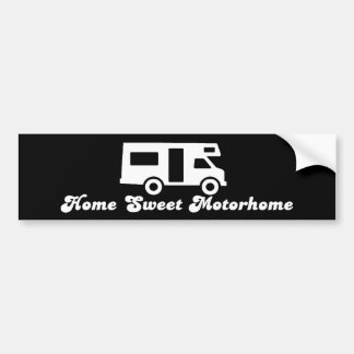 Home Sweet Motorhome Bumper Sticker