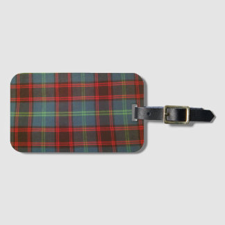 Home Tartan Luggage Tag