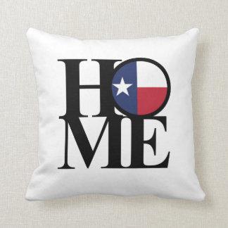 """HOME Texas Throw Pillow 16"""" x 16"""""""