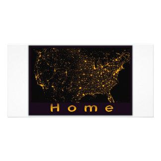Home USA Custom Photo Card
