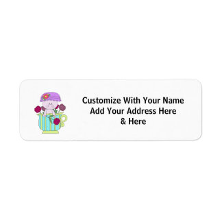 Home Vertical Template Return Address Label