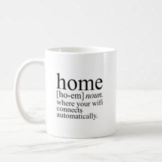 Home Wifi Coffee Mug