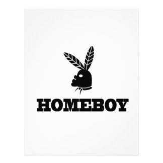 Homeboy Letterhead Design