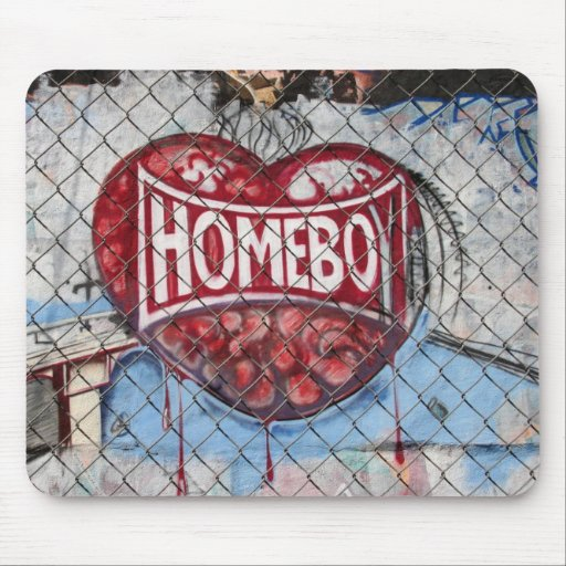 HOMEBOY MOUSEPAD