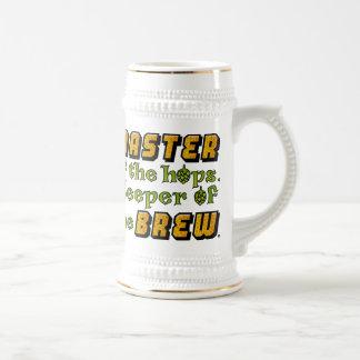 Homebrew Beer Brewer 18 Oz Beer Stein