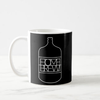 Homebrew (Carboy) Basic White Mug