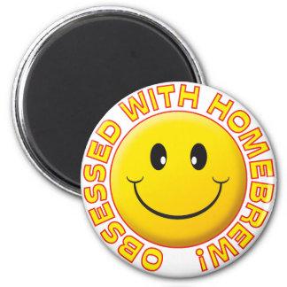 Homebrew, Obsessed Smile 6 Cm Round Magnet