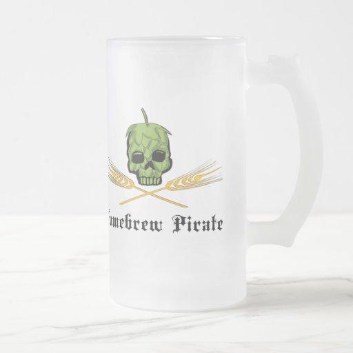 Homebrew Pirate Mugs