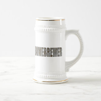 Homebrewer Beer Steins