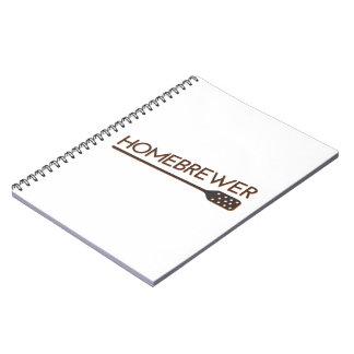 Homebrewer - Mash Paddle Notebooks