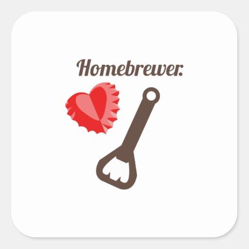 Homebrewer Stickers