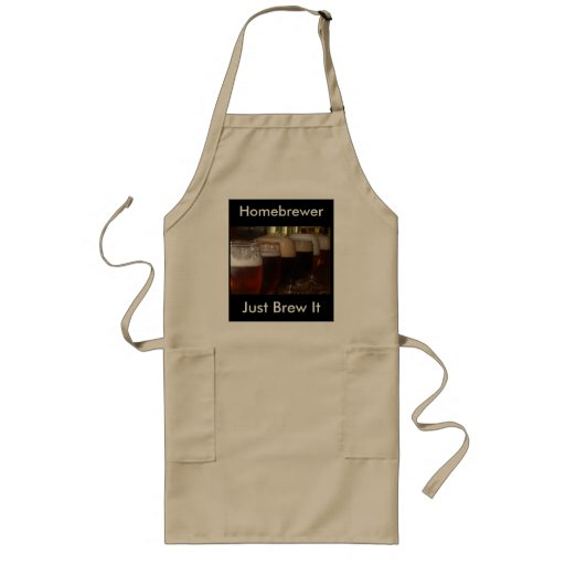 Homebrewer's Just Brew It Apron