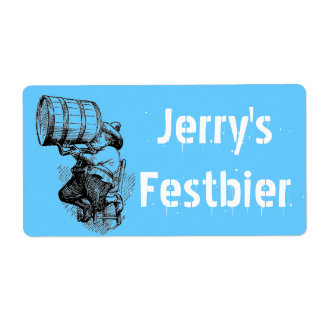 Homebrewing Labels Beer Oktoberfest Festbier