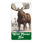 Homebrewing Wild Moose Beer Brewing Homebrew Label