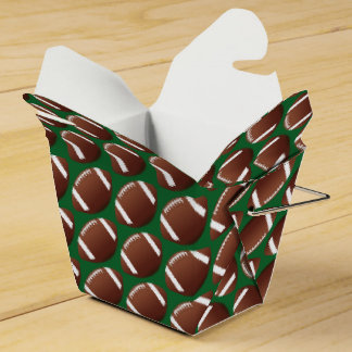 Homecoming Football Theme Party Favor Boxes
