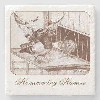 Homecoming Homers Stone Coaster